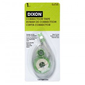 Correction Tape, 1 Line, Blister Card Package, 1 Count