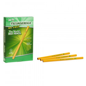 My First Ticonderoga Pencil without Eraser, 36 Count