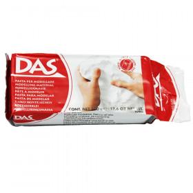 Prang® DAS® Air Hardening Modeling Clay, 1 lb., White