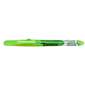 Emphasis Highlighters, Pocket Style, Chisel Tip, Green, Pack of 12