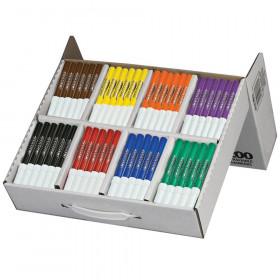 Prang Washable Art Marker Masterpack, 8 Colors, 200/Box