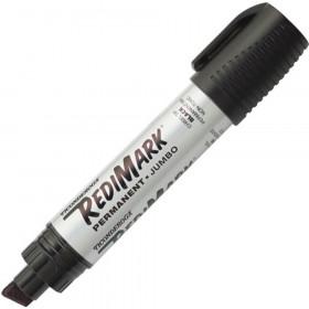 RediMark Jumbo Permanent Marker, Black