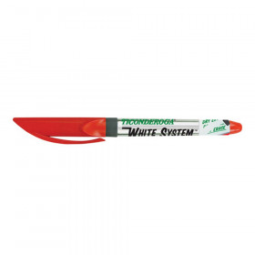 Dry Erase Markers, Fine Tip, Red, Pack of 12