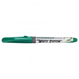 Dry Erase Markers, Fine Tip, Green, Pack of 12