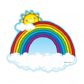 Rainbows Cut-Outs, 36 Pieces