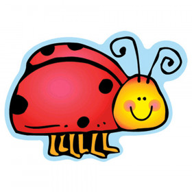 Colorful Cut Outs Ladybugs Assorted Designs