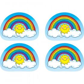 Stickers Rainbows 144Pk