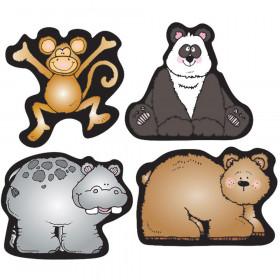 Zoo Friends Shape Stickers