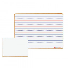 Magnetic Dry-Erase Lined/Blank Board