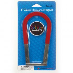 """Classic Horseshoe Magnet 6"""""""