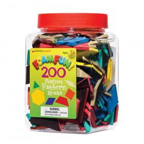 Foam Fun! Pattern Block Magnets, 200/Pack