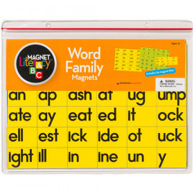 Magnet Literacy Word Family Magnets
