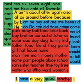 Sentence Building Magnets, Set of 270
