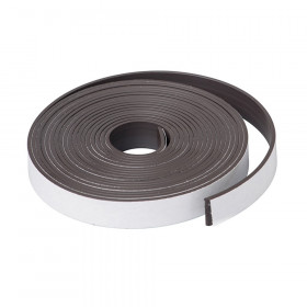 "1"" X 10' Roll of Magnet Strip w/ Adhesive"