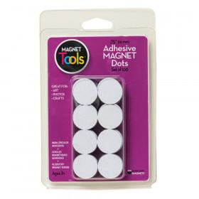 "Magnet Dots, 3/4"" Diameter, 100ct"