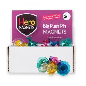Hero Magnets Big Push Pin Magnets