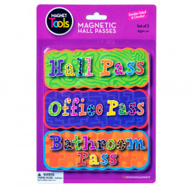Magnetic Hall Pass Set of 3