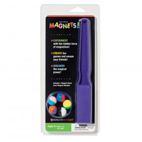 Magnet Wand And 5 Magnet Marbles
