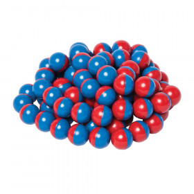 North/South Magnet Marbles (Red/Blue) set of 100