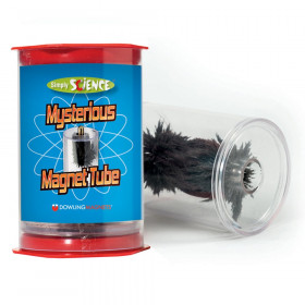 Simply Science Mysterious Magnet Tube, with steel filings