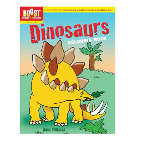 BOOST Dinosaurs Coloring Book