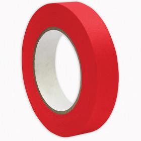 """Premium Grade Masking Tape, 1"""" x 55 yds, Red"""