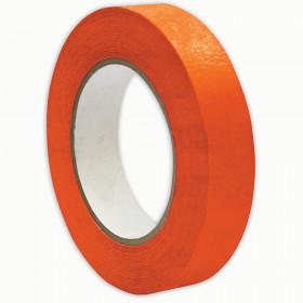 """Premium Grade Masking Tape, 1"""" x 55 yds, Orange"""