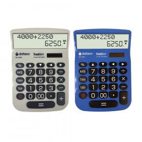 Teledex 2-Line TrackBack Large Desktop Calculator