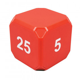 TimeCube Plus 5-10-20-25 Minute Preset Timer - Red