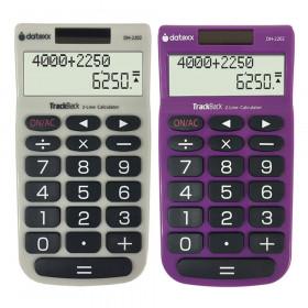 2-Line TrackBack Handheld Calculator