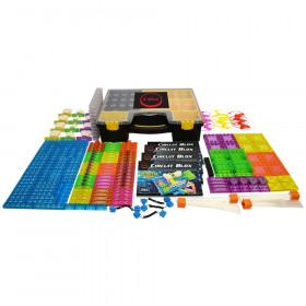 Circuit Blox 395, Circuit Board Building Blocks Classroom Set, 264 Pieces
