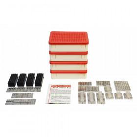 Power Blox Standard, LED Building Blocks Classroom Set, 180 Pieces