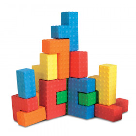 Sensory Puzzle Blocks, 18 Pieces