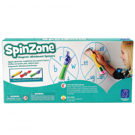 SpinZone Magnetic Whiteboard Spinners, Set of 3