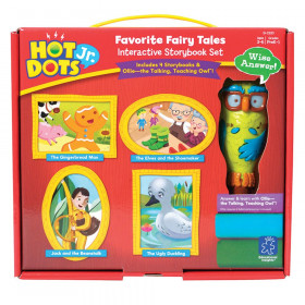 Hot Dots Jr. Interactive Storybook Set, Favorite Fairy Tales with Ollie the Owl