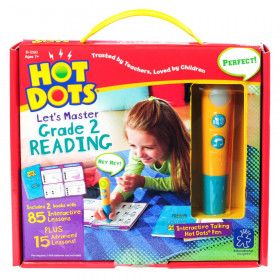 Hot Dots Let's Master Grade 2 Reading