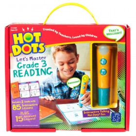 Hot Dots Let's Master Grade 3 Reading