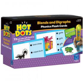 Hot Dots Phonics Program Set 4 Blends & Digraphs