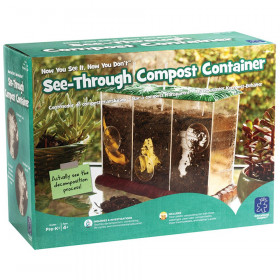 Now You See It Now You Don't See - Through Compost Container