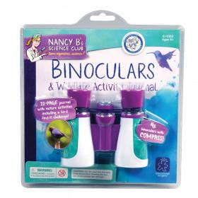 Nancy B Science Club Binoculars & Wildlife Activity Journal