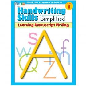 Handwriting Skills Simplified Book: Learning Manuscript Writing