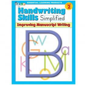 Handwriting Skills Simplified Book: Improving Manuscript Writing