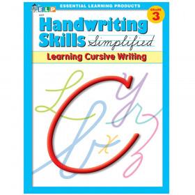 Handwriting Skills Simplified Book: Learning Cursive Writing