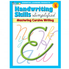 Handwriting Skills Simplified Book: Mastering Cursive Writing