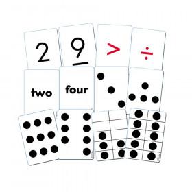 Essential Number Cards, 110 cards K-2