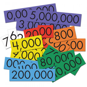 7-Value Whole Numbers Place Value Cards Set, 70 Cards