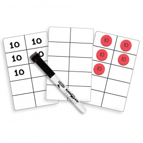 Write On Wipe Off Ten Frame Cards