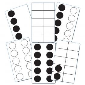 Ten-Frame Activity Cards, Set of 46