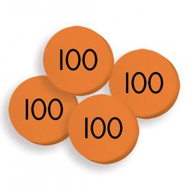 100 Hundreds Place Value Discs Set
