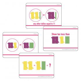 Sensational Math Hands-On Tally Marks Activity Card Sets, Grade 1